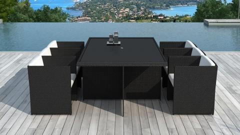 Nos salons, tables et chaises de jardin en aluminium, teck ...