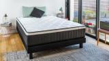 Matelas mémoire de forme 140x190 Visco Pure Hbedding - 7 Zones de confort - Epaisseur 25 cm - Garanti 5 ans