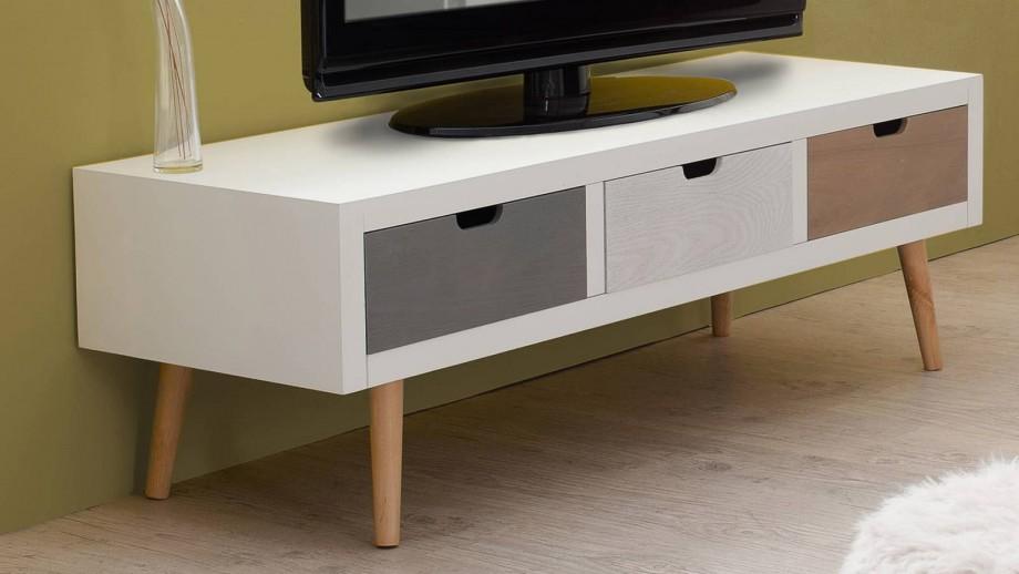 Asbjørn - Meuble tv 3 tiroirs
