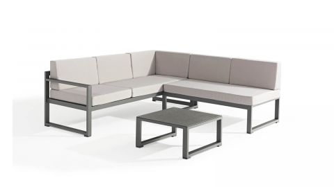 Salon de jardin en aluminium - Collection Relax