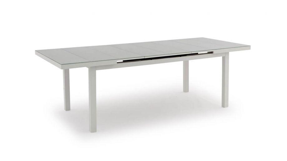 Table de jardin extensible en aluminium - Collection Nice