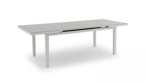 Table de jardin extensible en aluminium - Collection Nice