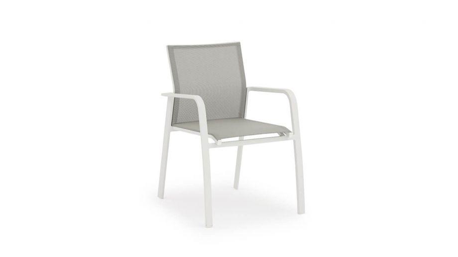 Fauteuil de jardin en aluminium - Collection Nice