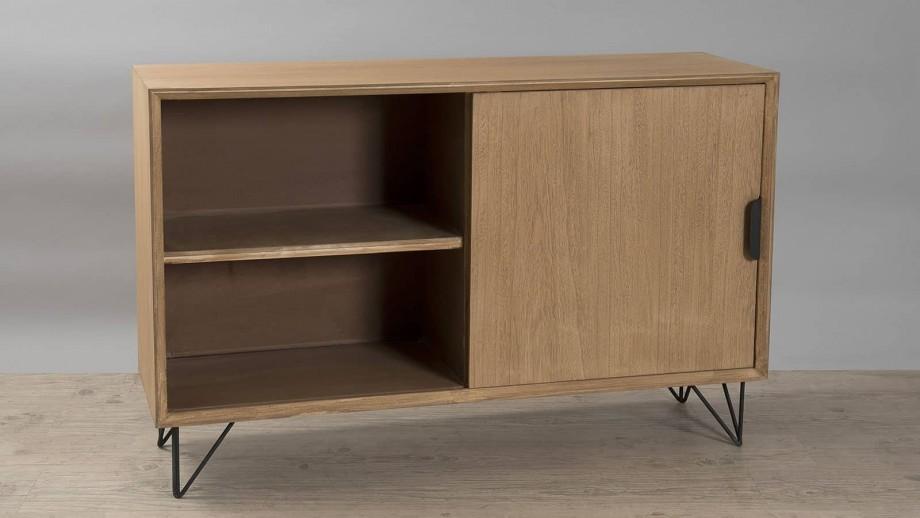 Løtta - Buffet 1 porte 3 tiroirs