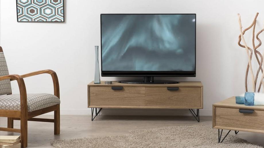 Løtta - Meuble tv 1 porte 1 tiroir