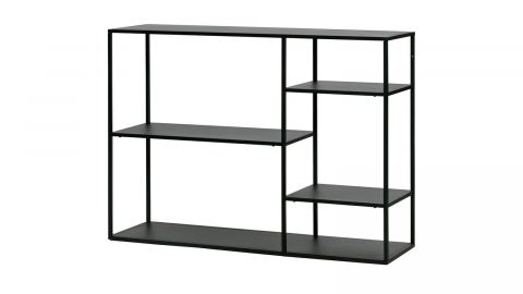 Table d'appoint en métal noir - Collection June - Woood