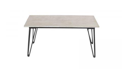 Table basse en béton piètement épingle - Bloomingville