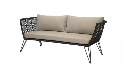 Canapé d'extérieur en métal piètement épingle - Collection Mundo - Bloomingville