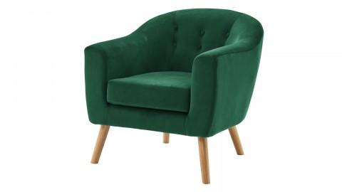 Fauteuil en velours vert – Collection Volga