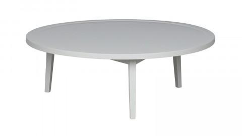 Table basse en bois gris 35x100x100cm - Collection Sprokkeltafel - Vtwonen