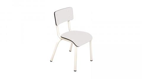 Chaise d'écolier enfant blanche - Collection Little Suzie - Les Gambettes