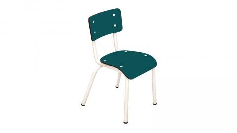 Chaise d'écolier enfant bleu canard - Collection Little Suzie - Les Gambettes