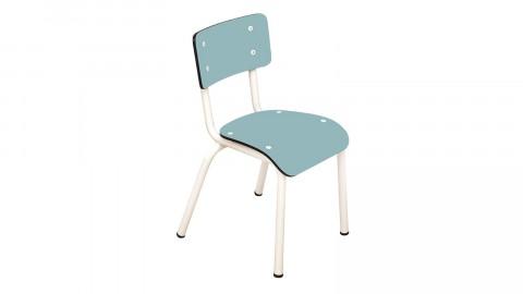 Chaise d'écolier enfant bleu jade - Collection Little Suzie - Les Gambettes