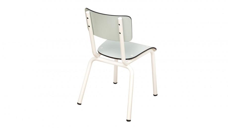 Chaise d'écolier enfant bleu menthe - Collection Little Suzie - Les Gambettes