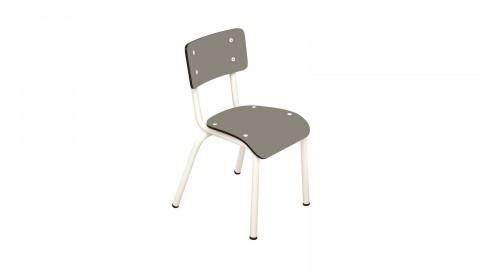 Chaise d'écolier enfant taupe - Collection Little Suzie - Les Gambettes