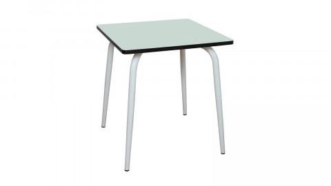 Table rétro 70x70cm menthe - Collection Véra - Les Gambettes