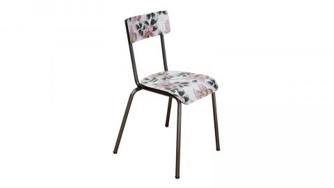 Chaise d'écolier adulte mosaïque pieds bruts - Collection Suzie - Les Gambettes