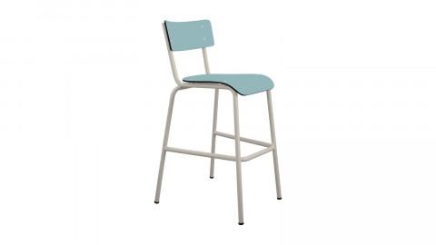 Chaise haute 65 cm bleu jade - Collection Suzie - Les Gambettes