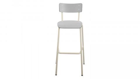 Chaise haute 75 cm gris perle - Collection Suzie - Les Gambettes