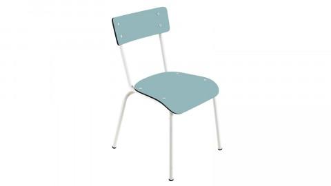 Chaise d'écolier adulte bleu jade - Collection Suzie - Les Gambettes