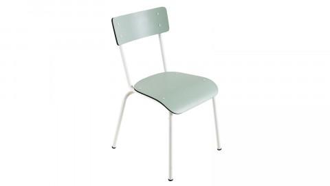 Chaise d'écolier adulte menthe - Collection Suzie - Les Gambettes