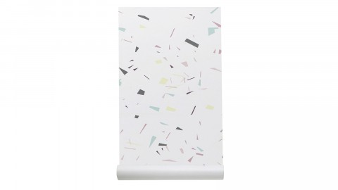 Papier peint imprimé confettis - Collection Wallpaper - Les Gambettes