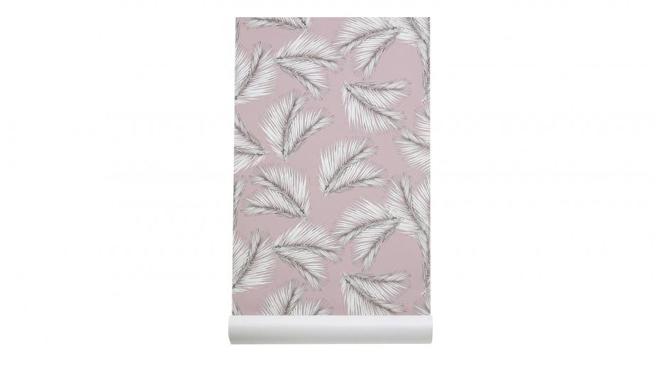 Papier peint imprimé palme - Collection Wallpaper - Les Gambettes