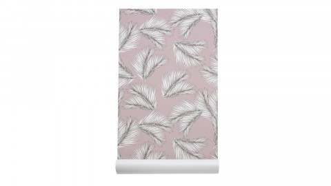 Papier peint imprimé palme - Collection Wallpaper - Les Gambettes