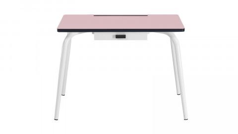 Bureau d'écolier élémentaire rose poudré - Collection Romy - Les Gambettes