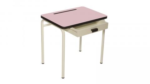 Bureau d'écolier enfant rose poudré - Collection Régine - Les Gambettes