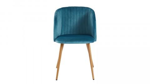Lot de 2 chaises couleur bleu canard foncé – Collection Jimi