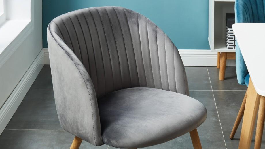 Lot de 2 chaises couleur anthracite – Collection Jimi