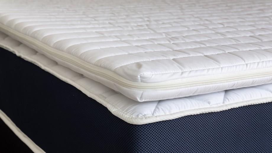 Sur matelas déhoussable 140x190 Confort Plus Hbedding - Mousse polyuréthane