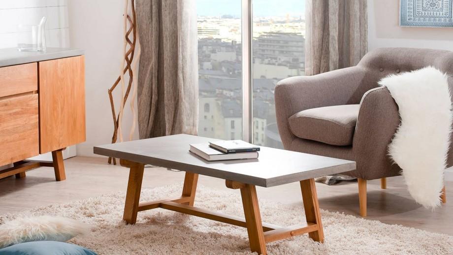 Heikø - Table basse 120 x 60 cm