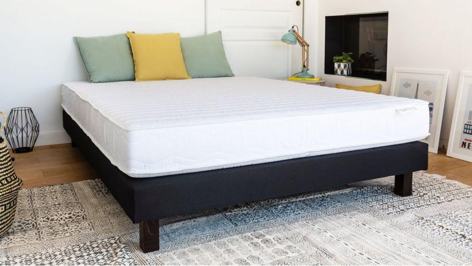 Matelas mousse haute densité 140x190 Confort Zen Hbedding - Coutil microfibre déhoussable