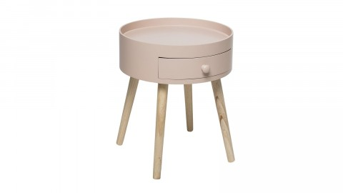 Petite table d'appoint rose - Collection First - Bloomingville