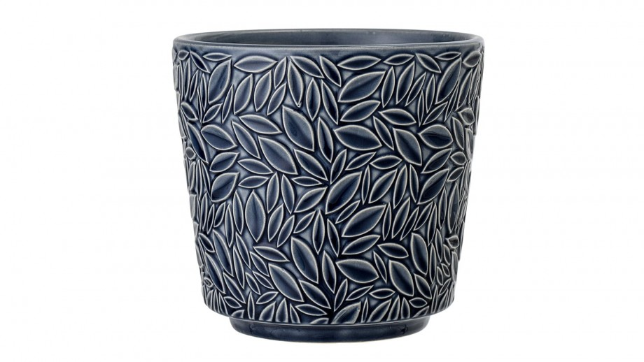Pot de fleurs en grès bleu - Bloomingville