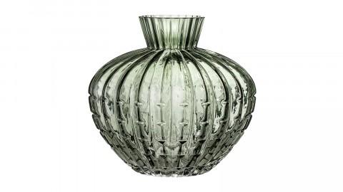 Vase ovale en verre vert - Bloomingville