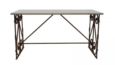 Table à manger en métal - Collection Château - Bloomingville