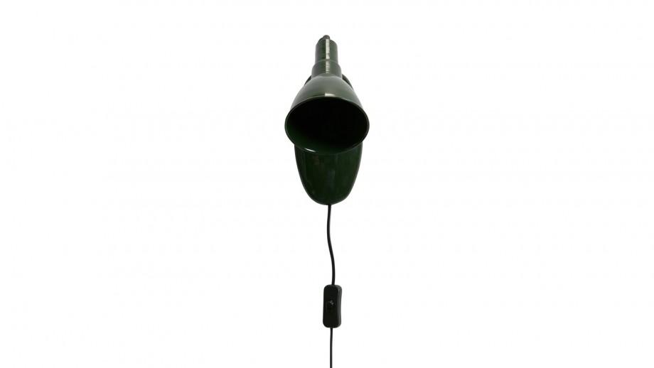 Spot lumineux en métal vert foncé - Collection Masterpiece - BePureHome