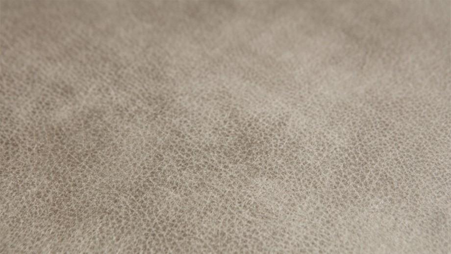 Tabouret en cuir gris éléphant - Collection Rodeo - BePureHome