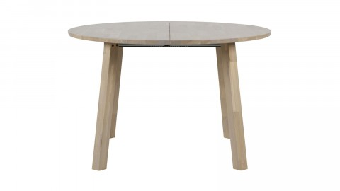 Table à manger ronde extensible en chêne - Collection Lange - Woood