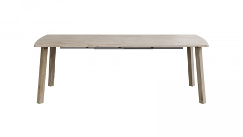 Table à manger rectangle extensible en chêne - Collection Lange - Woood
