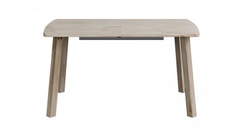 Table à manger rectangle extensible en chêne - Collection Lange - Woood