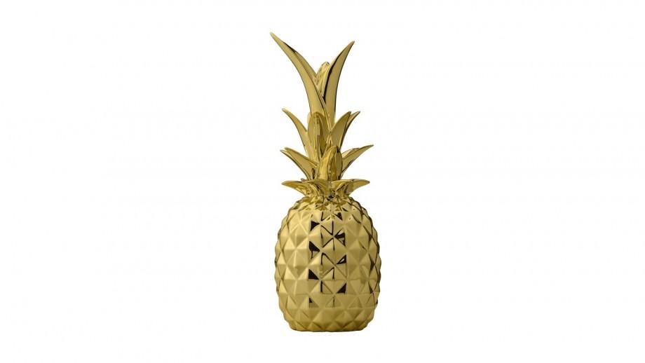 Ananas décoratif couleur or - Bloomingville