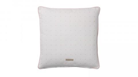 Coussin carré blanc et rouge imprimé écureuil - Bloomingville