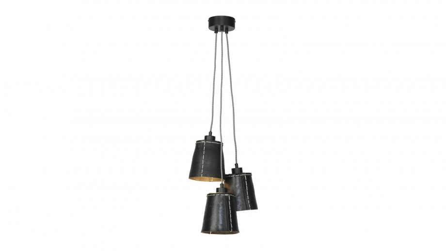 Suspension 3 abats jour noir S - Collection Amazon - Good&Mojo
