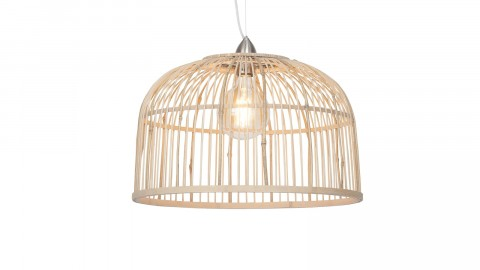 Suspension en bambou abat jour simple L - Collection Borneo - Good&Mojo