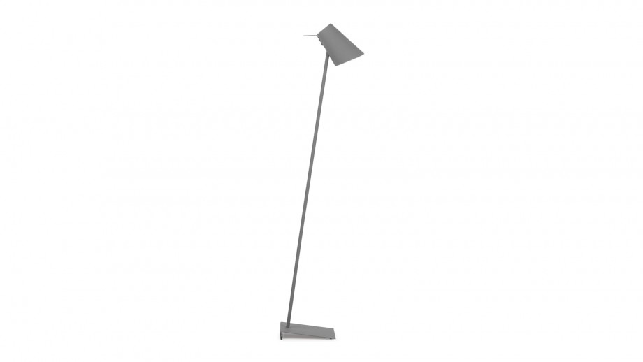 Lampadaire en fer et gomme gris - Collection Cardiff - It's About Romi