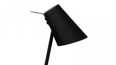 Lampe à poser en fer et gomme noir - Collection Cardiff - It's About Romi